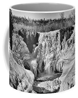 Frozen High Falls Coffee Mug
