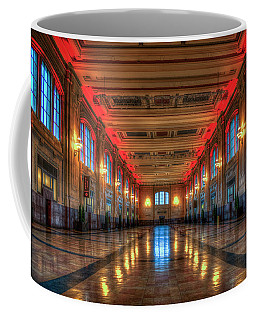 Frozen In Time Union Station Kansas City Missouri Train Art Coffee Mug
