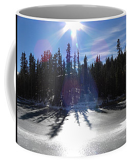 Sun Reflecting Kiddie Pond Divide Co Coffee Mug
