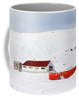 Frozen Life Coffee Mug by Nick Mares