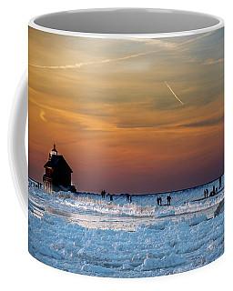 Frozen Lighthouse Coffee Mug