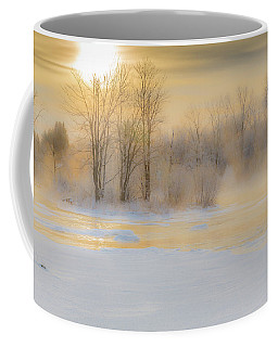 Frozen Morning Coffee Mug