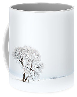 Frozen Morning Coffee Mug by Yvette Van Teeffelen
