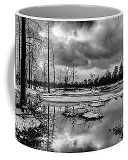 Frozen Mullica River Coffee Mug