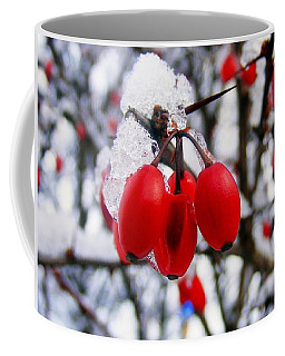 Frozen Red Berries Coffee Mug