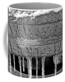 Coffee Mug featuring the photograph Frozen Road Warrior by Robert Knight