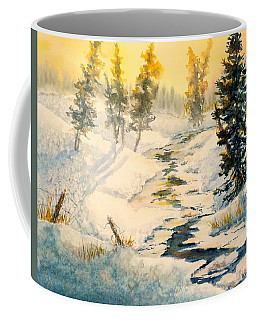 Frozen Stream Coffee Mug