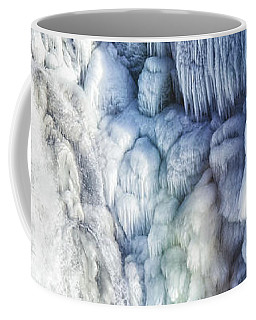 Frozen Waterfall Gullfoss Iceland Coffee Mug