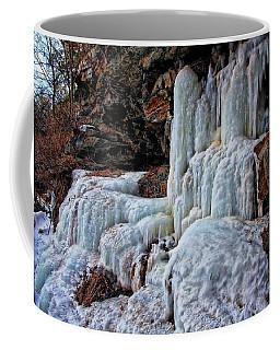 Frozen Waterfall Coffee Mug by Suzanne Stout