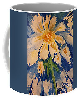 Coffee Mug featuring the photograph Frozen by Maria Urso