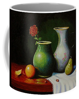 Fruit And Pots. Coffee Mug