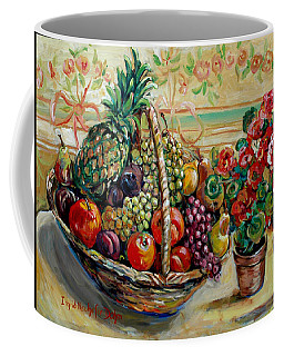 Fruit Basket Coffee Mug by Alexandra Maria Ethlyn Cheshire
