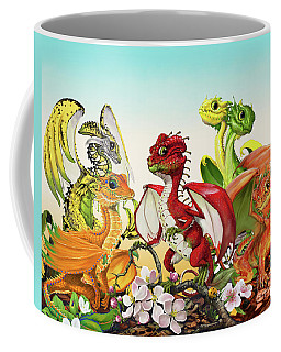 Fruit Medley Dragons Coffee Mug