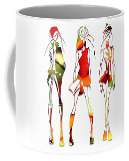 Fruit Salad Runway Models Coffee Mug