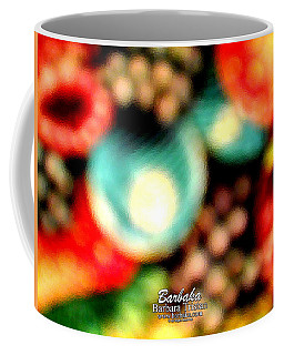 Coffee Mug featuring the photograph Fruit Sticker by Barbara Tristan
