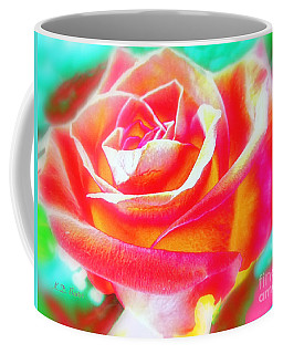 Fruitalicious--a Rose Good Enough To Eat Coffee Mug by Kimberlee Baxter