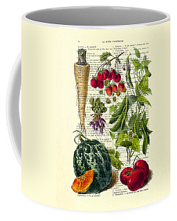 Fruits And Vegetables Kitchen Decoration Coffee Mug