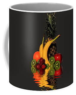 Fruity Reflections - Dark Coffee Mug