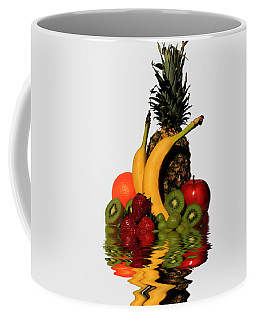 Fruity Reflections - Light Coffee Mug