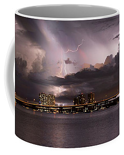 Ft Myers Nights Coffee Mug by Quinn Sedam