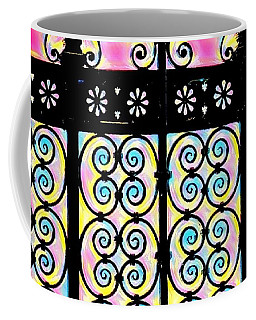 Fuchsia Gate  Coffee Mug