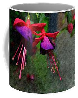 Fuchsia's Beating As One Together -silk Edit Coffee Mug