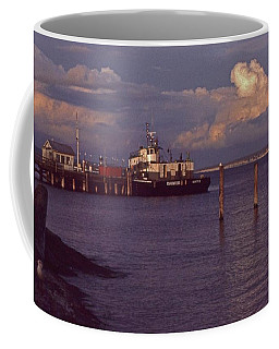 Fuel Dock, Port Townsend Coffee Mug