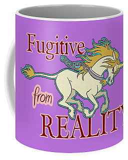 Fugitive Unicorn Coffee Mug