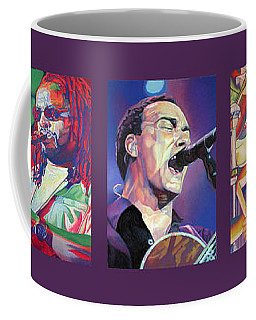 Coffee Mug featuring the drawing Full Band Set by Joshua Morton