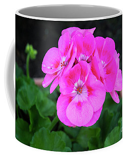 Full Bloom Geranium Coffee Mug