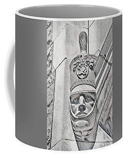 Coffee Mug featuring the photograph Full Dress Shako by Dan McManus