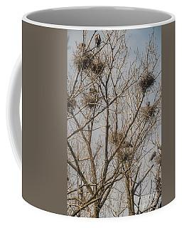Coffee Mug featuring the photograph Full House by David Bearden