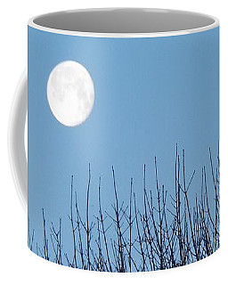 Full Moon At Dawn Coffee Mug