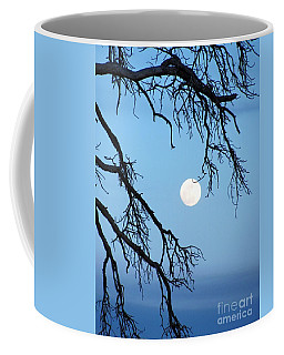 Full Moon Blue Sky Coffee Mug