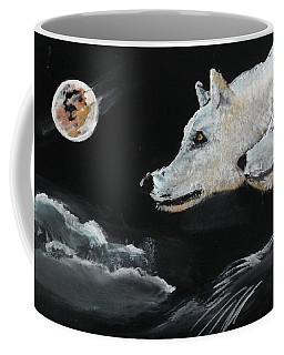 Full Moon Coffee Mug by Carole Robins