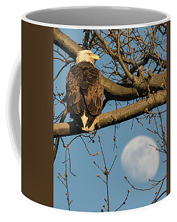 Full Moon Eagle  Coffee Mug