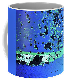 Full Moon. #green #blue #abstract Coffee Mug