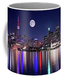 Full Moon In Toronto Coffee Mug