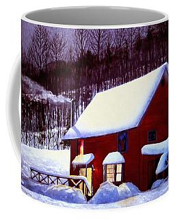 Full Moon In Vermont Coffee Mug