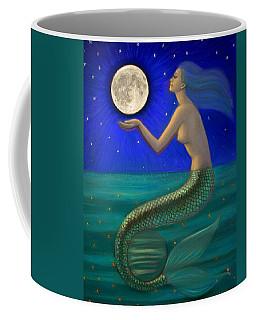 Full Moon Mermaid Coffee Mug