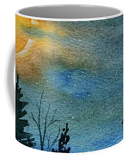 Full Moon Night Coffee Mug