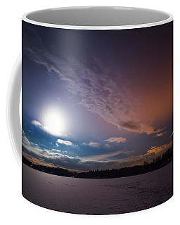 Full Moon Nightscape Coffee Mug