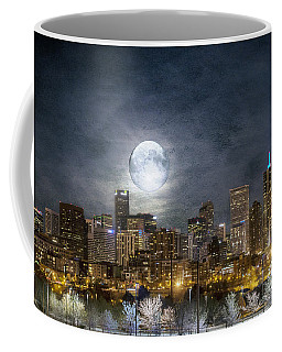 Full Moon Over Denver Coffee Mug