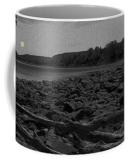 Full Moon Over Lambertville Coffee Mug