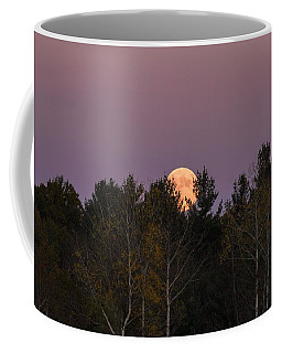 Full Moon Over Orchard Coffee Mug
