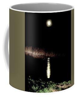 Full Moon Over Piermont Creek Coffee Mug