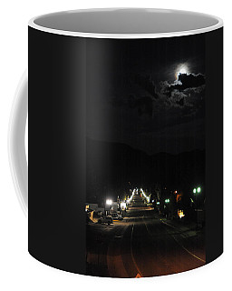 Full Moon Over Red River Coffee Mug
