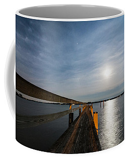 Full Moon Pier Coffee Mug