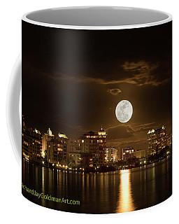 Full Moon Rising Over Sarasota Coffee Mug