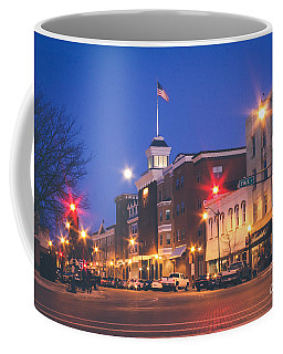 Coffee Mug featuring the photograph Full Moon Rising by Viviana  Nadowski